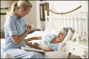 Palliative care makes the patient as comfortable as possible.